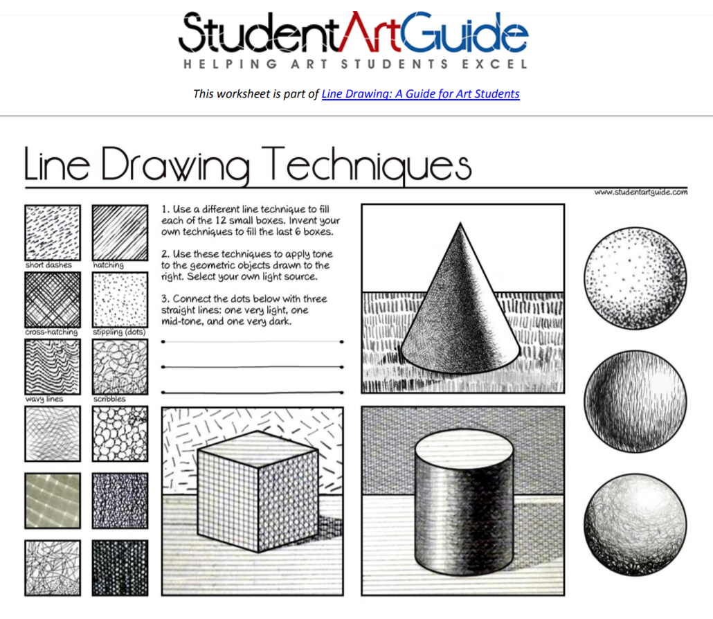 Line Drawing A Guide For Art Students With Images