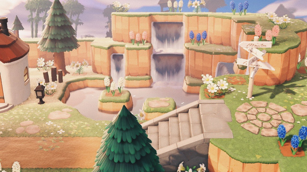 Animal Crossing New Horizons Island Entrance Ideas
