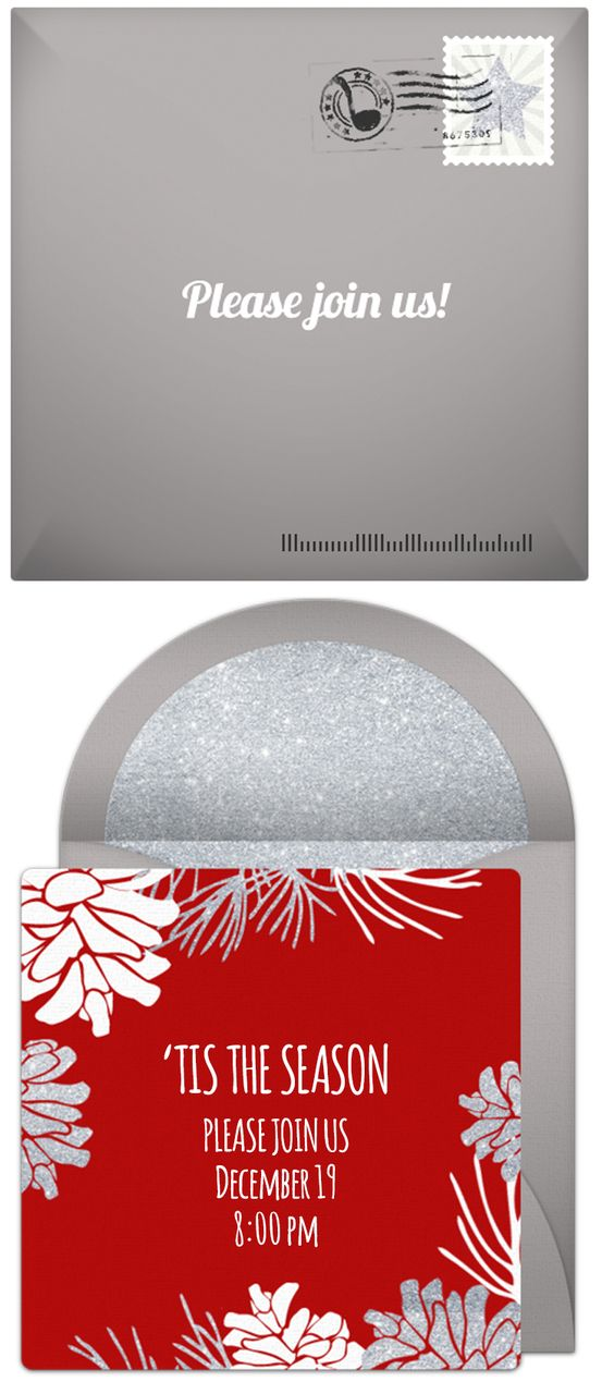 Christmas Party Invitations | Party invitations
