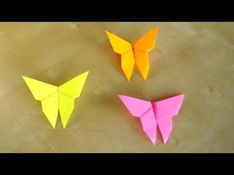 schmetterling basteln mit papier geschenk falten origami basteltipps diy geschenkideen. Black Bedroom Furniture Sets. Home Design Ideas