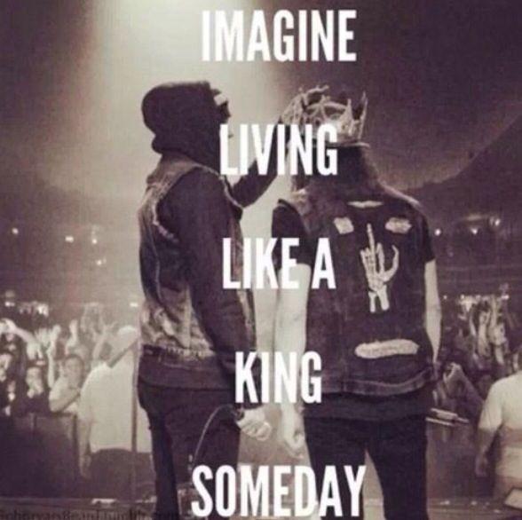 """King for a day ft. Kellin Quinn """" imagine living like a ..."""
