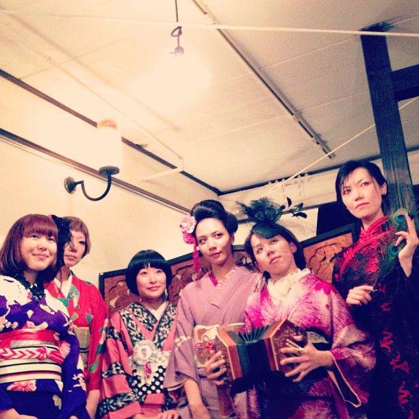 """Kimono Girls""  KIMONO/CHAOS in Kyoto  #KimonoChaos #Portrait #Kimono #Antique #Beautiful #Fashion #JAPAN #Kyoto"