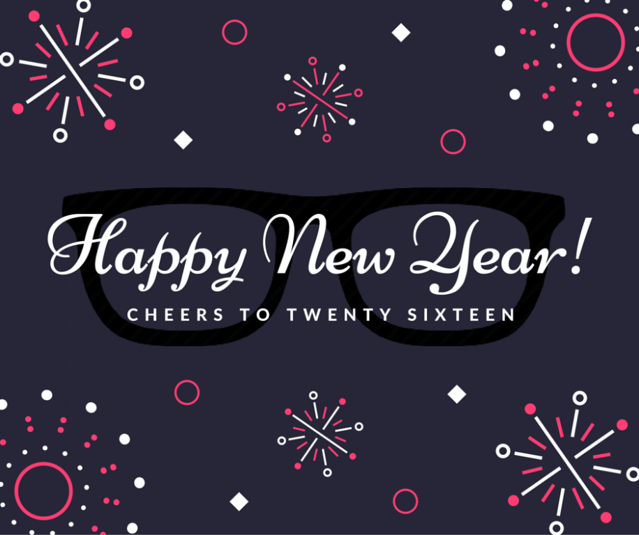 Happy New Year from 20/20 Image Eye Care Centers!