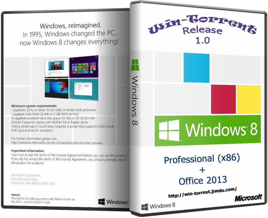 Виндовс 8 профессиональная 64 бит » windows скачать через torrent.