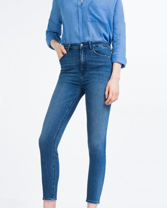 69dc0b45 Image 2 of HIGH RISE SKINNY JEANS from Zara | The F word, FASHION ...