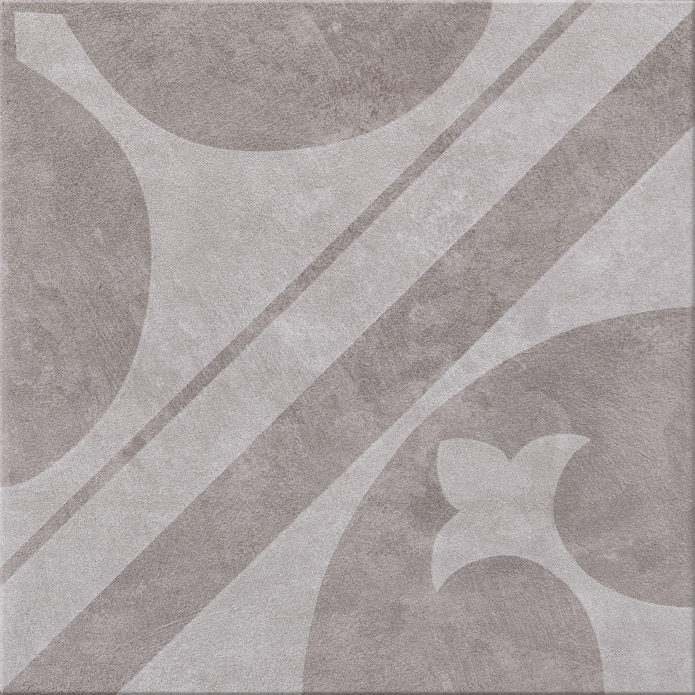 Cersanit Pato Grey Grafica 1 Gres Płytka Podłogowa 326x326
