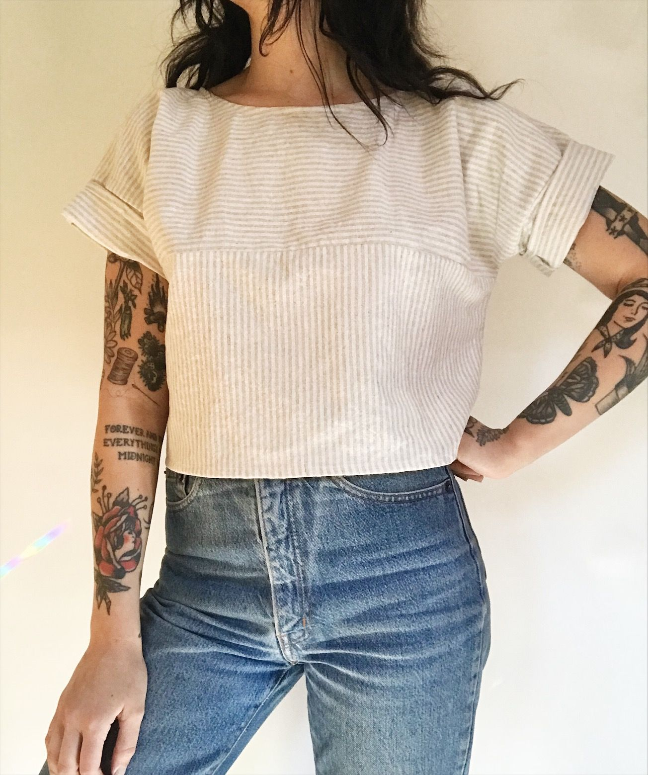 Easy Tee in Stripe in 2020 Fashion, Clothes, Style