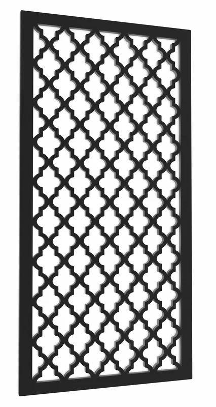 4 ft. H x 2 ft. W Morocco Vinyl Privacy Screen