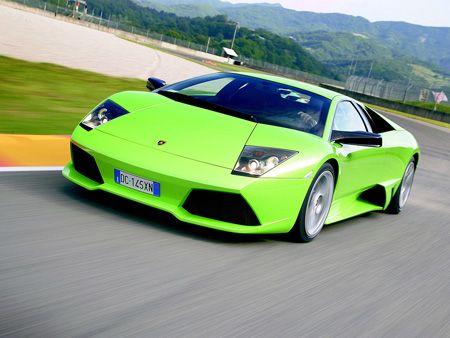 Cool Green Cars The Sanitary Green Lamborghini Gallardo Drifted - Cool cars green