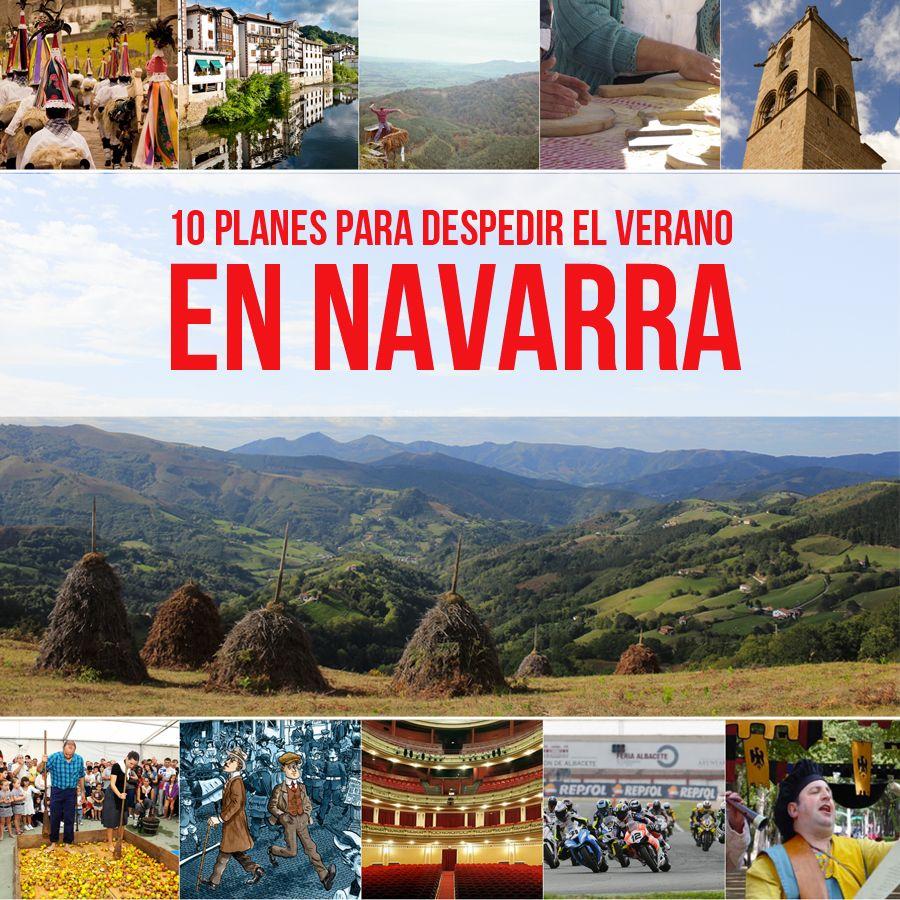 10 planes en Navarra para despedir el verano. Escrito por @Carol