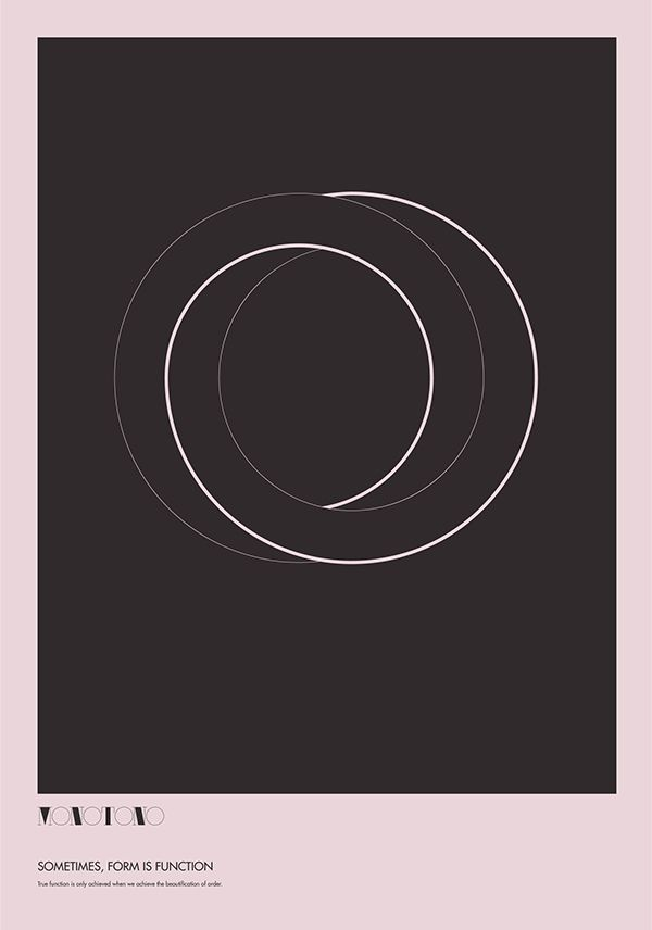 Monotono - The Absurdity of Form. Poster Study. on Behance