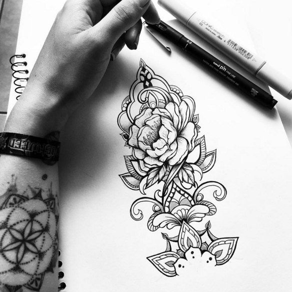 Pin by Maria October on Tattoo sketches | Pinterest | Tattoo ...
