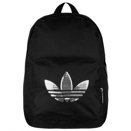 Adidas backpack - black + silver (my favourite colour)  36a59767dfec5
