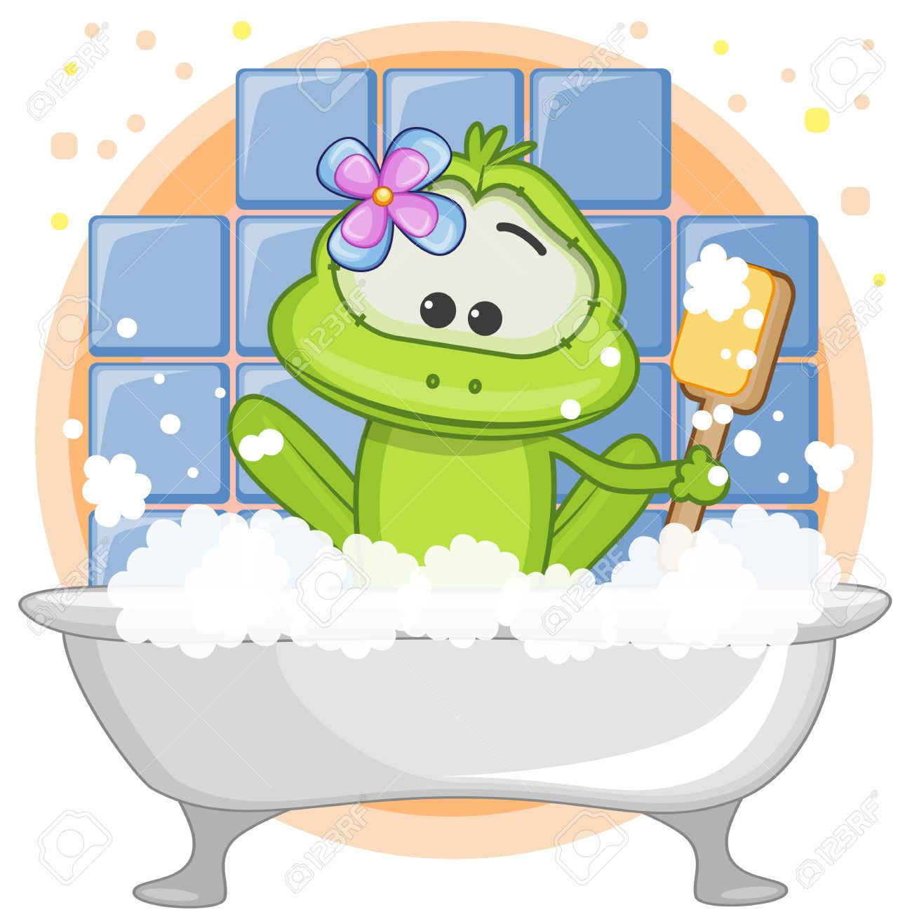 Badezimmer Comic Young Frog Cliparts Stock Vector And Royalty Free Young Frog