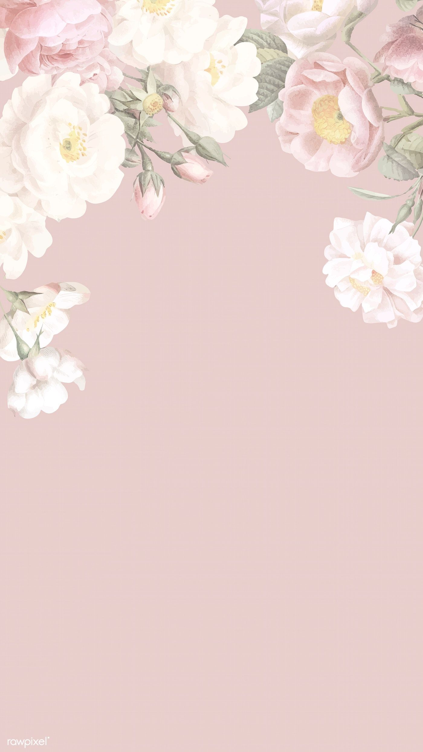 Download premium illustration of Elegant floral frame design vector 842454