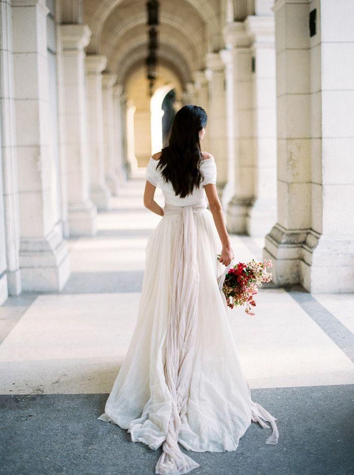 Playful Pink Wedding Ideas from Cuba - Once Wed | Vestidos novia ...