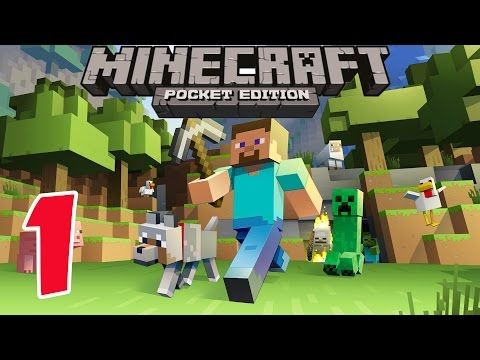 Minecraft Pe Survival Mode Gameplay Part 1 Let S Play Video