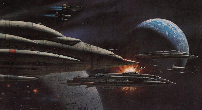 Star Wars Concept Spaceship Art By From Ralph Mcquarrie X Wing Tie Fighter  Snow Speeder