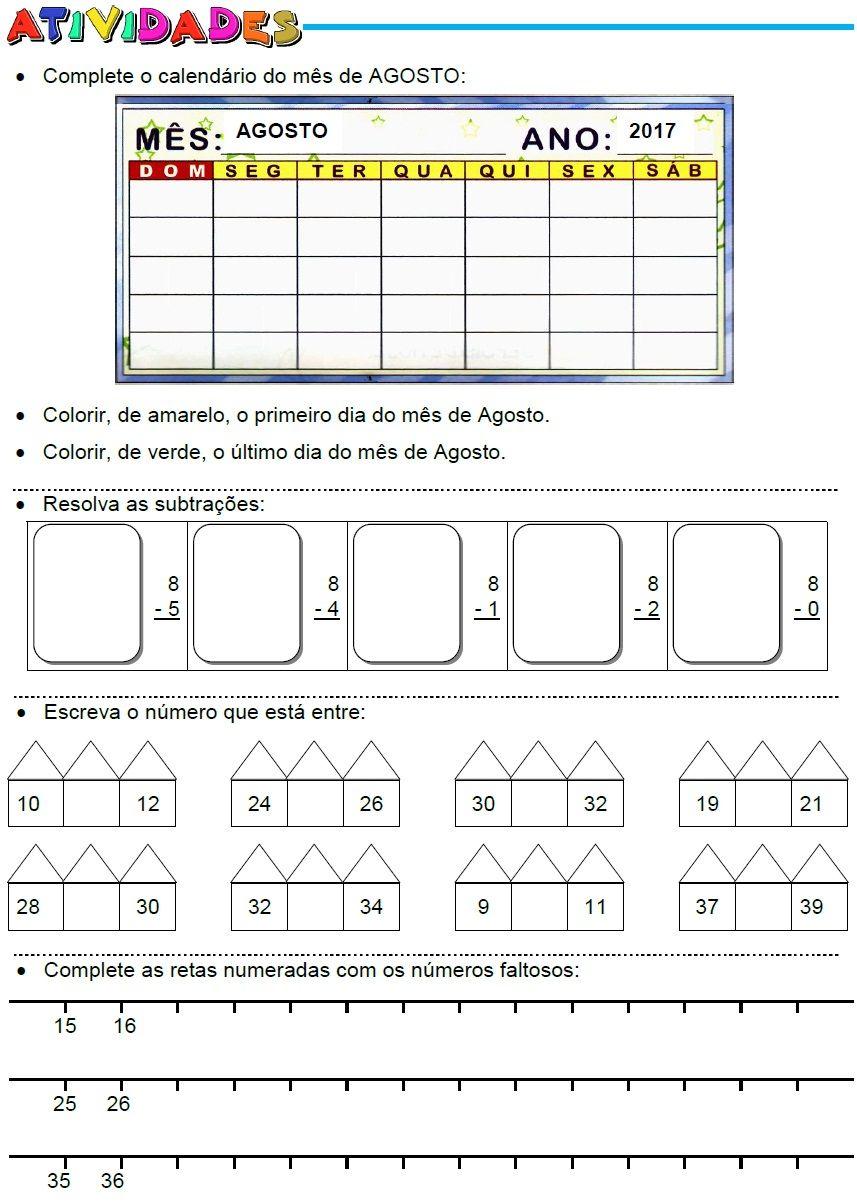 Amado atividades-calendario-subtracoes-vizinhos-sequencia.jpg (857×1202  QV87