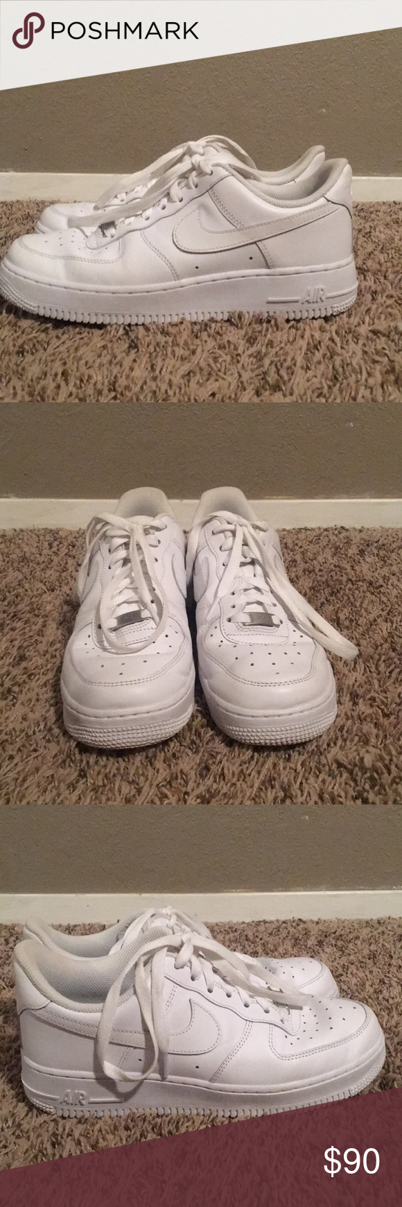 Women's size 8 Air Force 1's I just bought them from someone