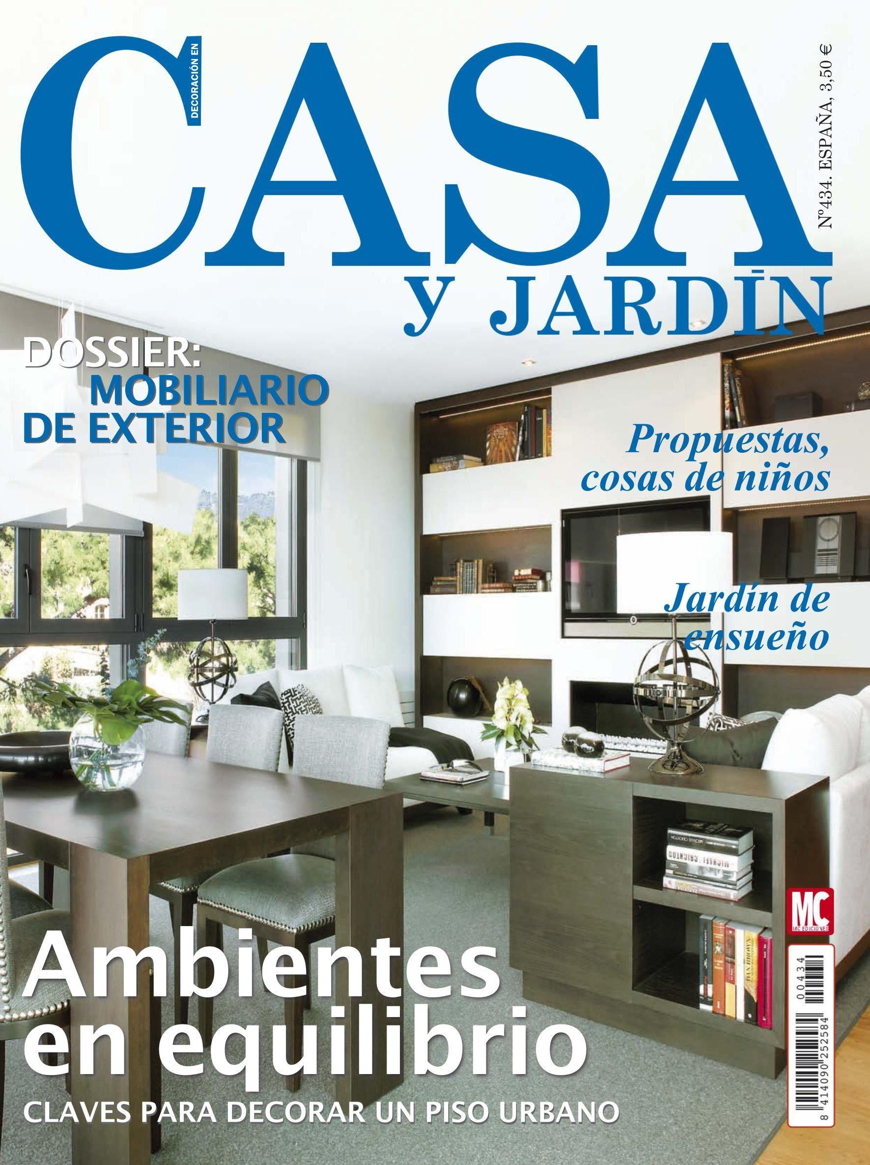 Revista casa y jardin 434 ambientes de equilibrio for Casa mobiliario jardin