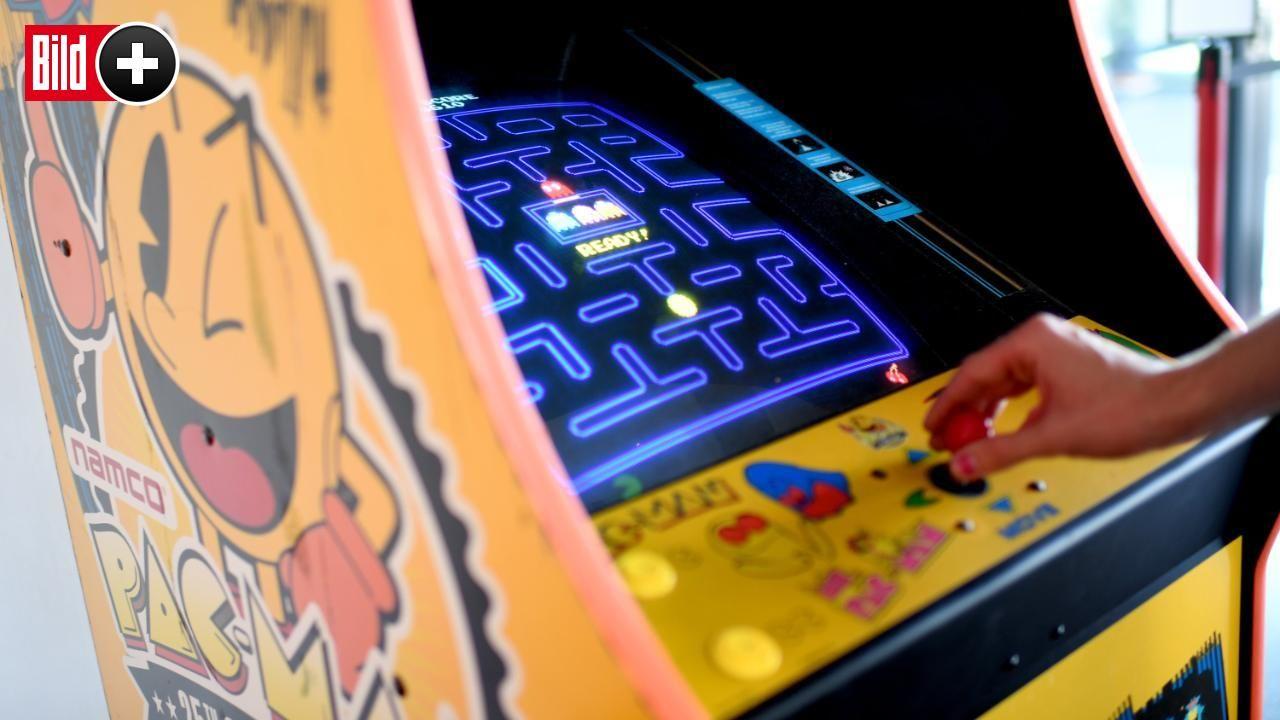 Videospiele 80er Automaten
