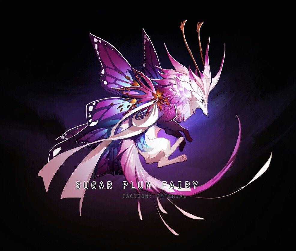 Magical Creatures Sugar Plum Fairy Mythical Creatures Art Cute Fantasy Creatures Mystical Animals