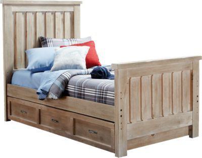 Carter\u0027s Kids Collection Lost Creek Gray 3 Pc Twin Slat Bed Ward