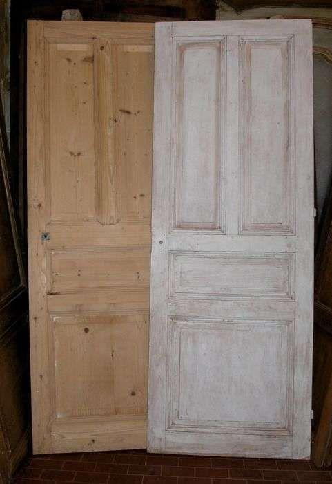 Decapare una porta - Porte decapate in legno chiaro stile naturale ...