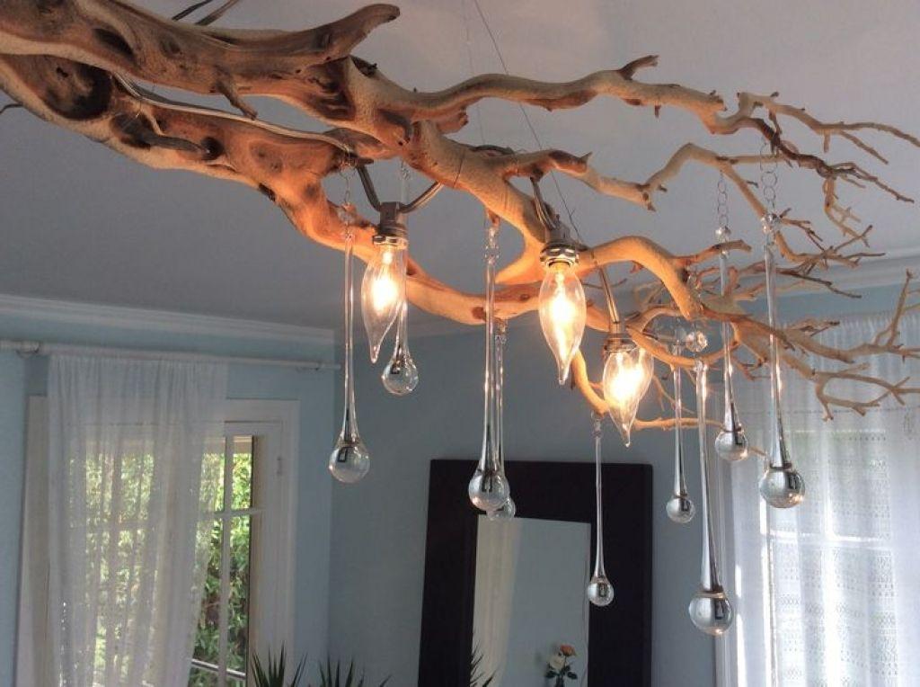 15 Really Fascinating Diy Tree Branch Chandeliers Kronleuchter