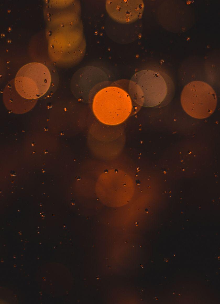 orange circles bokeh 840x1160 wallpaper orange