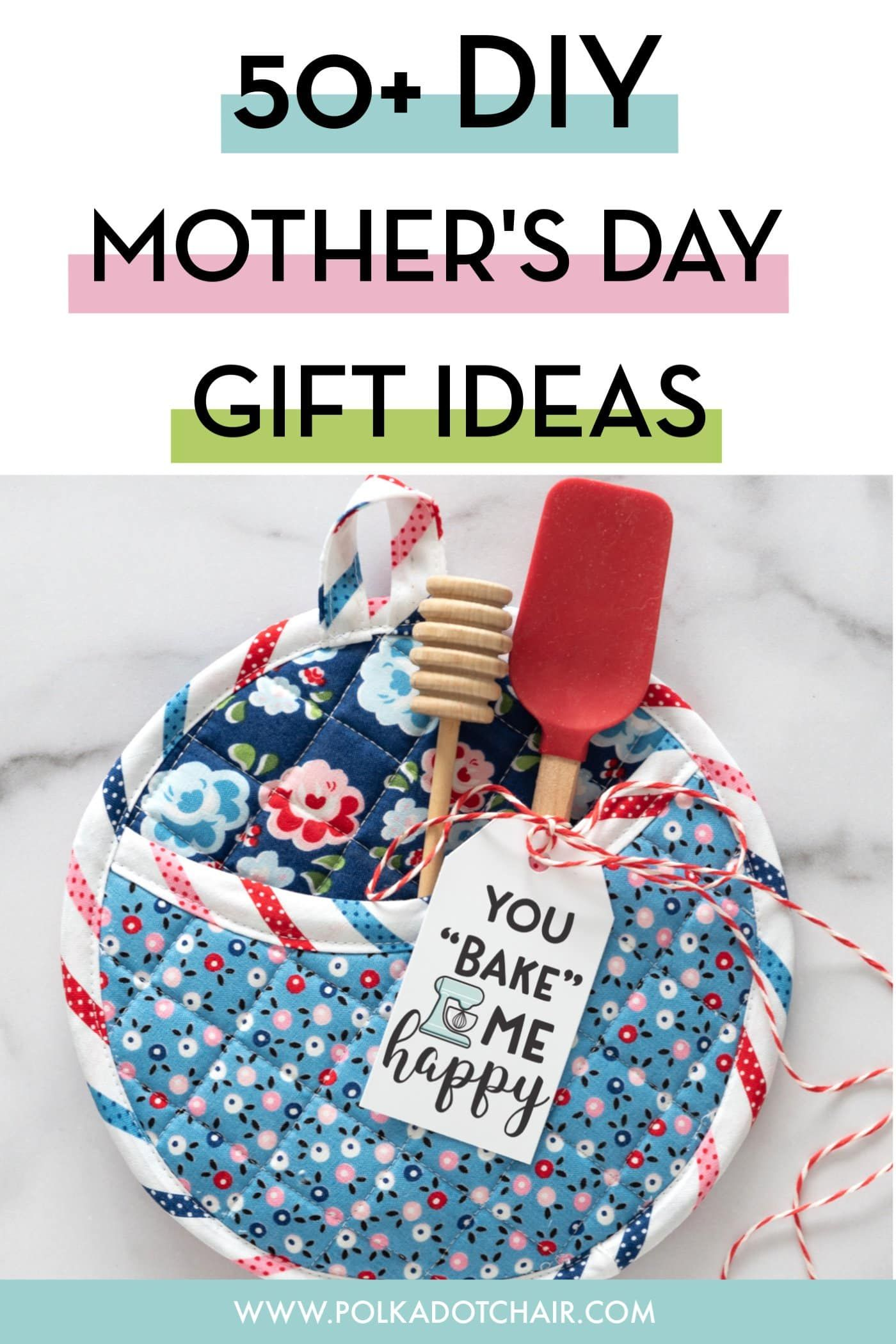 50 diy mothers day gift ideas projects the polka dot