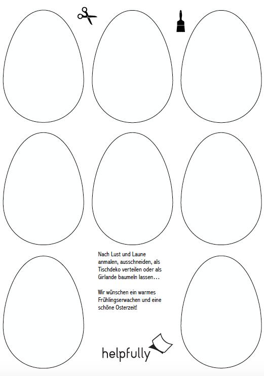 Druckvorlagen Ostern Holler Spiel