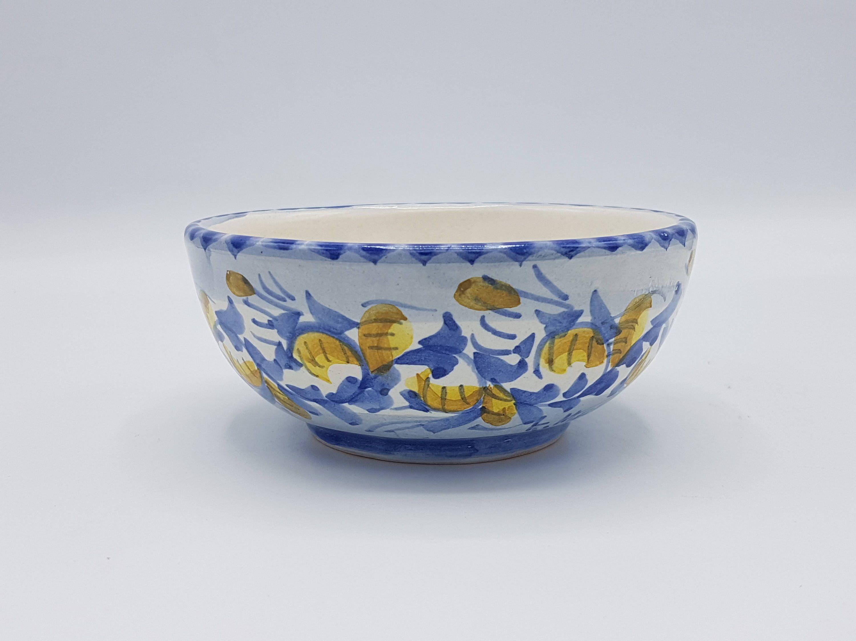 Mobili In Regalo Messina.Ciotola In Ceramica Siciliana Decorata A Mano Ciotola Per