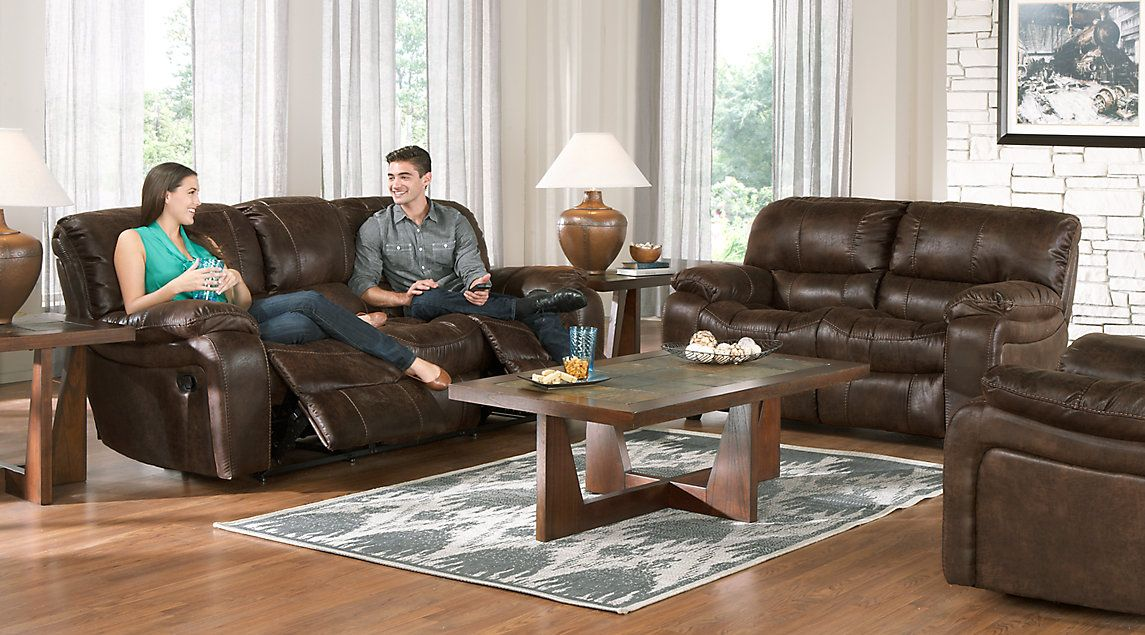 living room furniture collections ideas with brown couch cindy crawford home alpen ridge 5 pc interior sets
