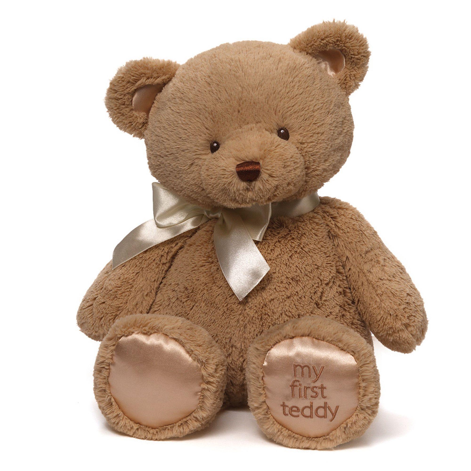 Babygund My 1st Teddy Tan 18 Baby Stuffed Animals Bear Stuffed Animal Teddy Bear [ 2000 x 2000 Pixel ]