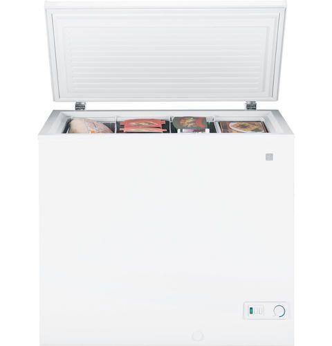 Ge 7 0 Cu Ft Manual Defrost Chest Freezer At Menards No Lock No
