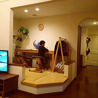 Photo of リビング/無印良品/ベルメゾン/小上がり畳スペース/勉強部屋…などのインテリア実例 – 2016-01-16 19:22:35 | RoomClip(ルームクリップ)