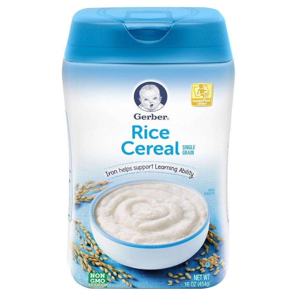 Gerber Single Grain Rice Baby Cereal - 16oz