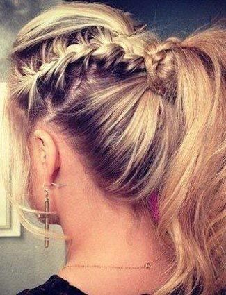 Fine 1000 Images About Earring Hairstyles On Pinterest Braids Updo Hairstyles For Men Maxibearus