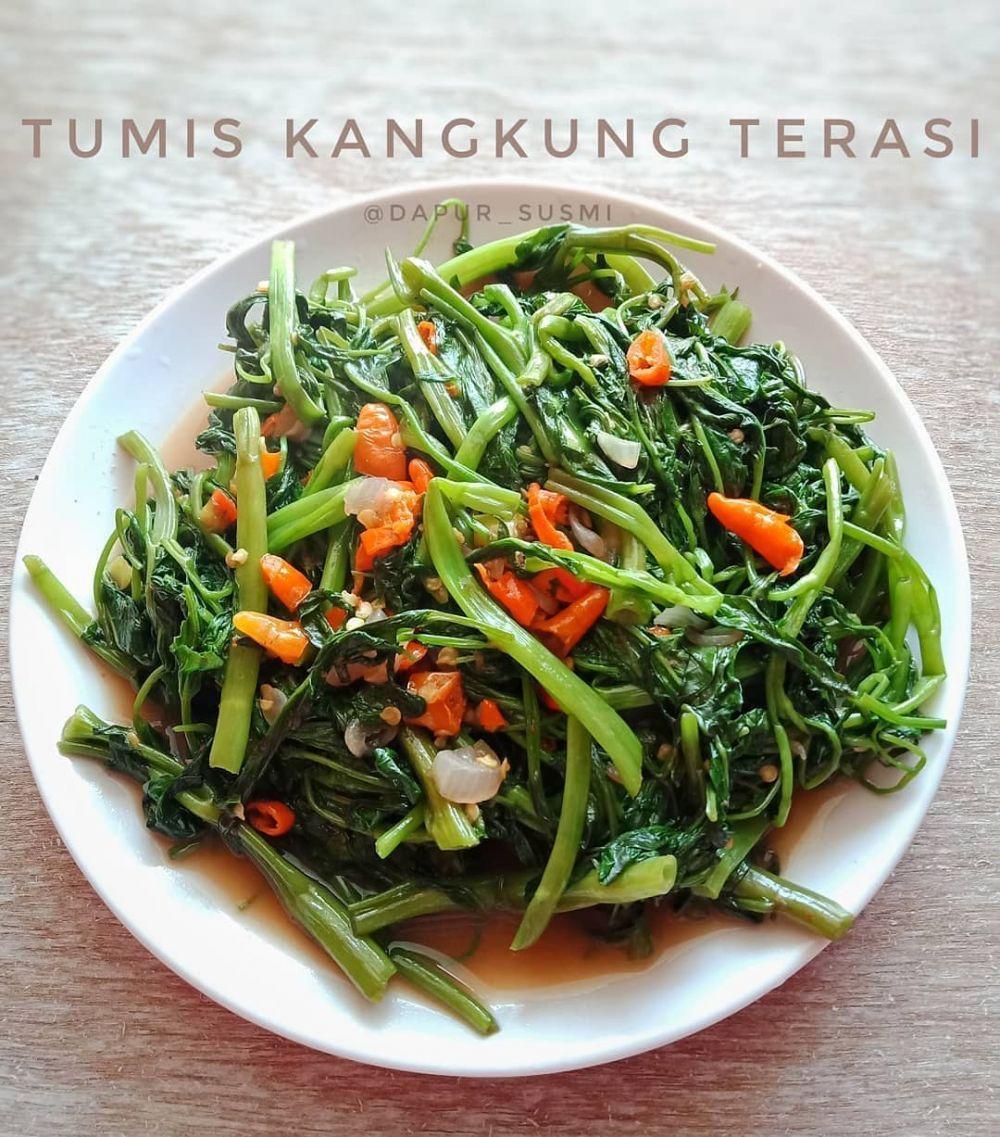 15 Resep Tumis Ala Anak Kos Enak Sederhana Dan Praktis Instagram Resepjajananpasar Wulanfoods Tumis Resep Kangkung