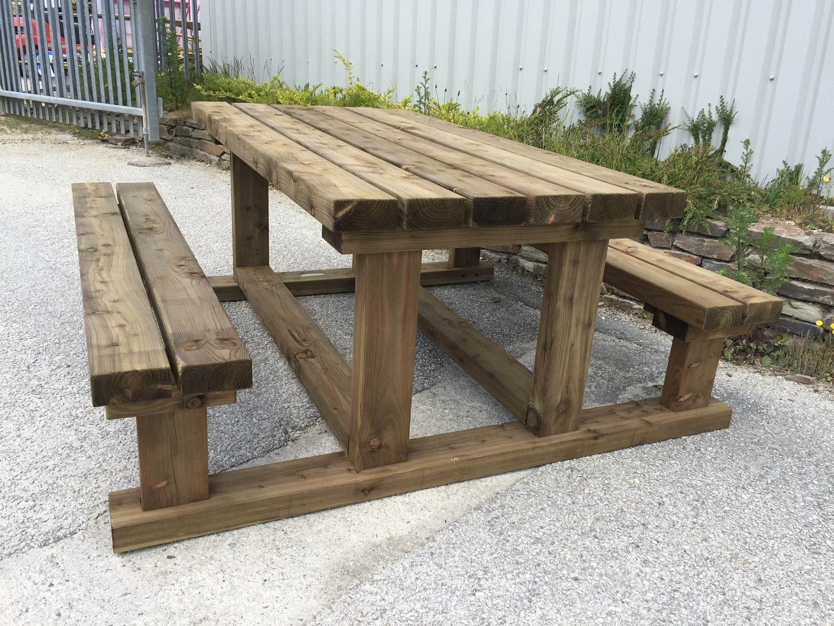 Heavy Duty Picnic Table Diy Picnic Table Wooden Picnic Tables Picnic Table Plans