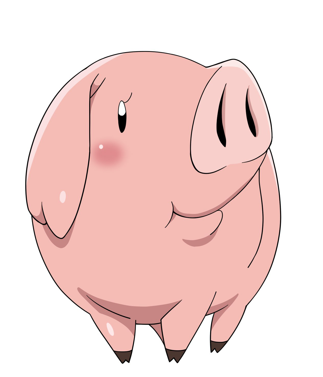 The Seven Deadly Sins Pig