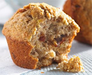 Can't wait to try this recipe for Banana, Date & Walnut Muffins made with #DeliciouslySimple spread and whole wheat flour!