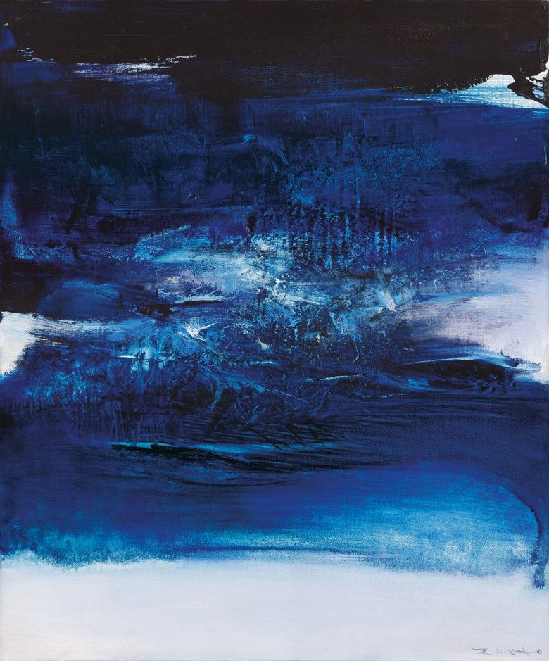 Zao Wou Ki Francechina 1920 2013 10 8 67 1967 Abstract Art