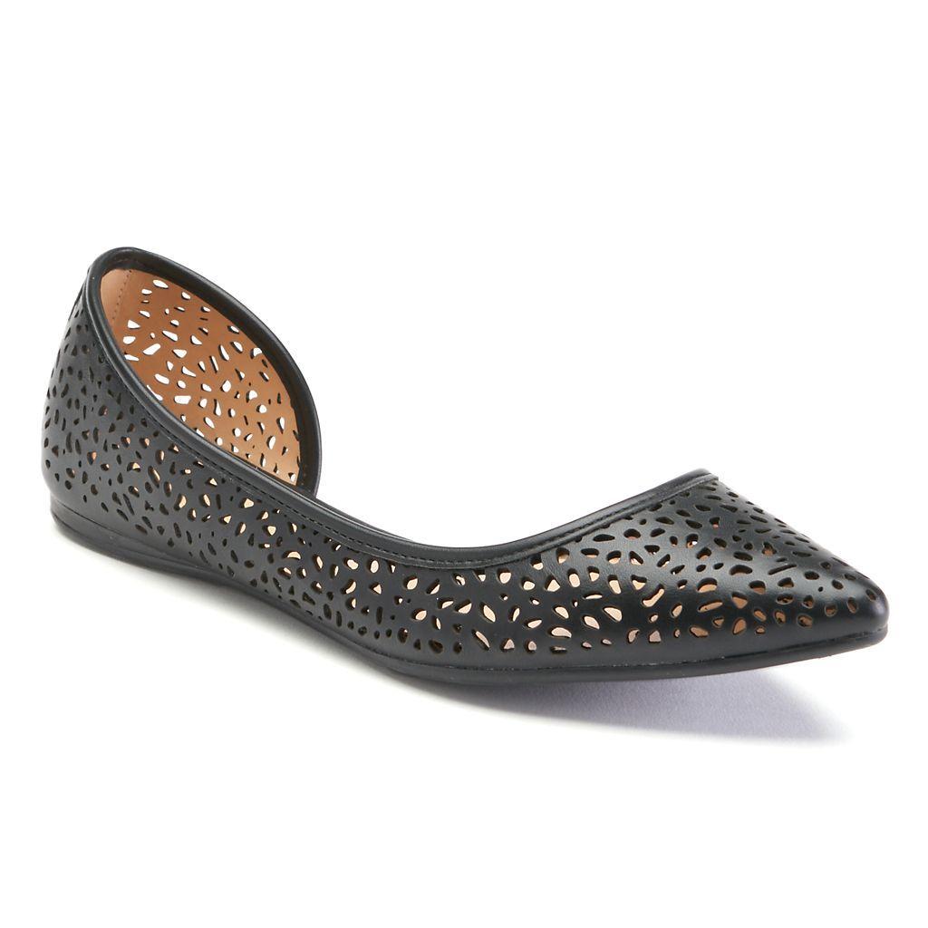 d0d919cb9ffa Apt. 9® Satisfy Women s Pointed-Toe D Orsay Flats