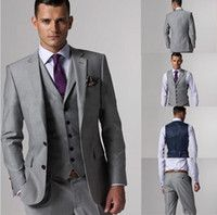 Grey suit | Suit ideas | Pinterest | Vests, Wedding and Men's suits