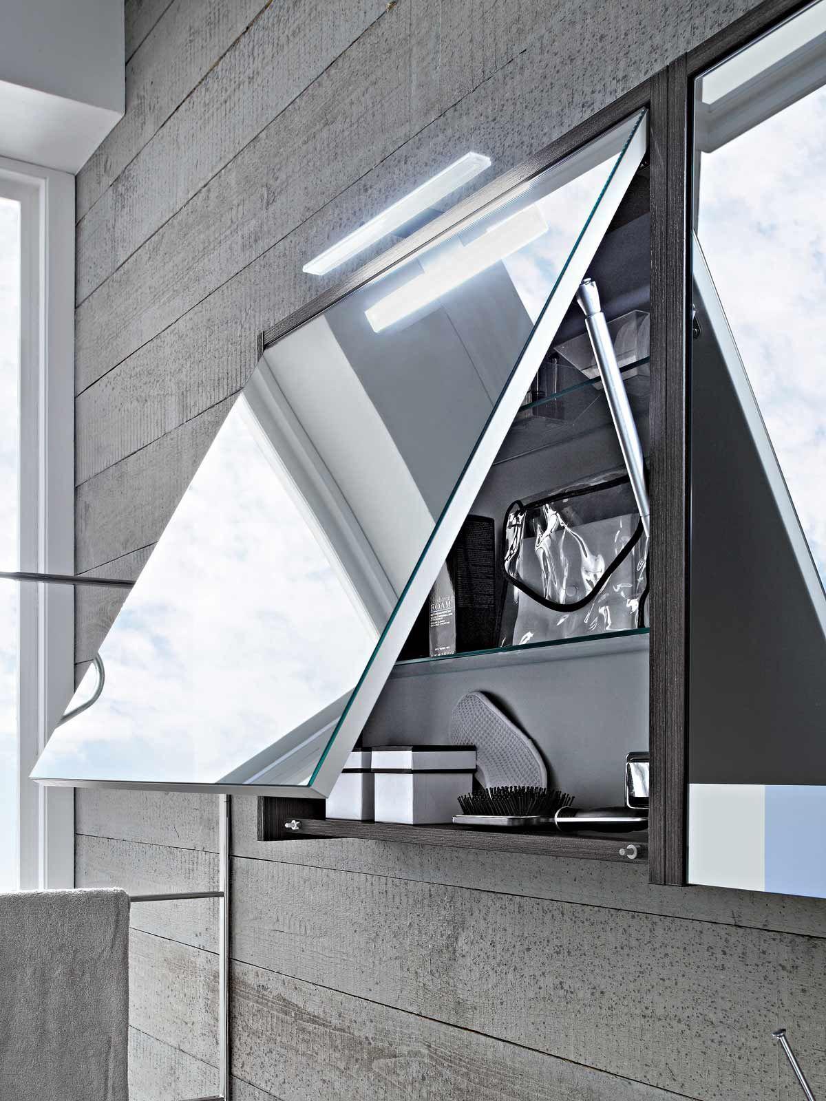 Spiegelschrank play modern 70 badideen badezimmer for Badezimmer beleuchtung modern