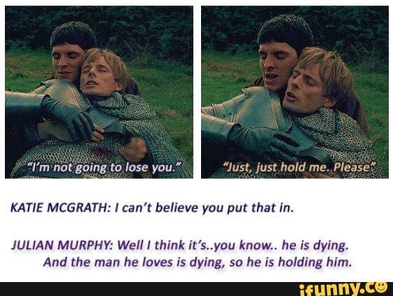 Merthur One Shots - No More Words   Merlin is my life