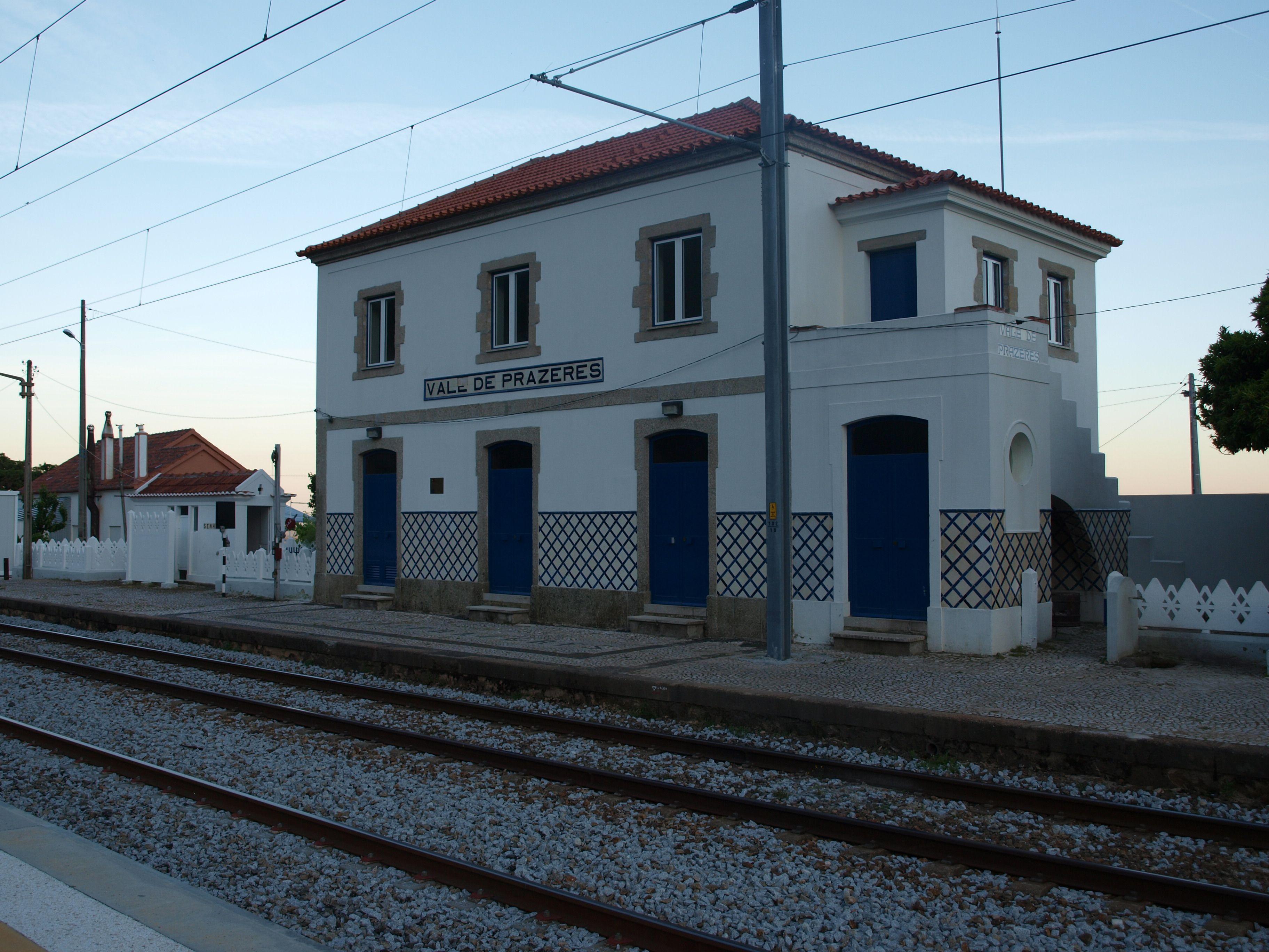 estação de Vale de Prazeres